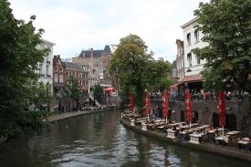 Canali con bar a Utrecht
