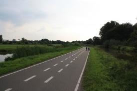 Piste ciclopedonali nei dintorni di Delft