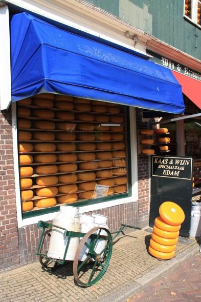 Negozio di formaggi a Edam