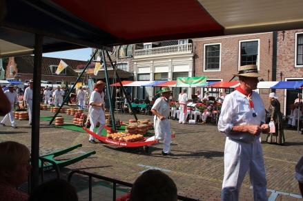 Edam Kassmarkt - mercato dei formaggi di Edam