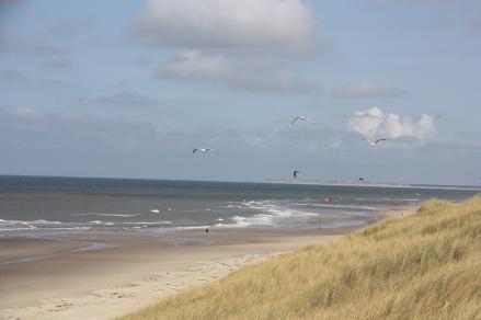 Spiaggia a Vlieland