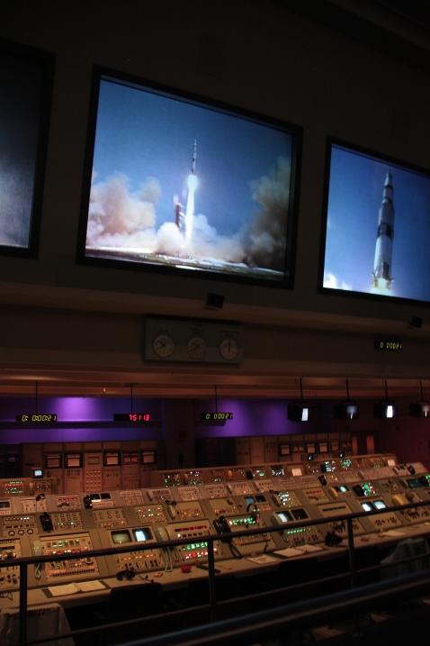 Simulazione lancio Apollo alla Nasa