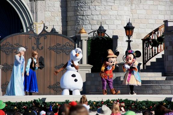 Spettacolo a Disney World