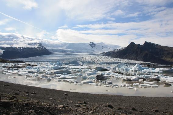 Laguna Jokuslaron ai piedi del Watnajokull