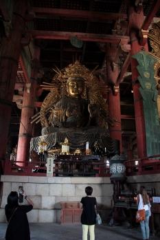 Interior of Tokyo Buddhist temple