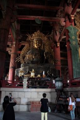 Interno del Tempio buddista di Tokyo