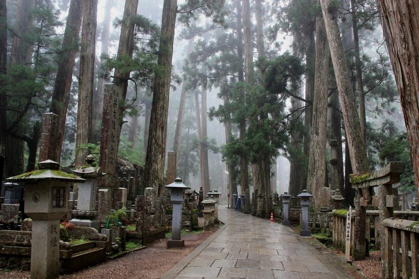 Koya San cemetery