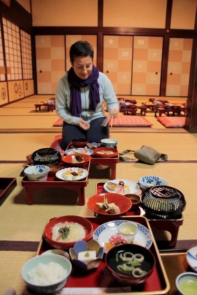 Cena in un monastero del Koya-san