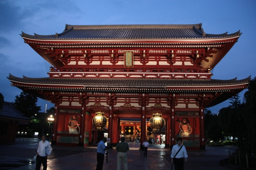 Buddhist temple in Tokyo