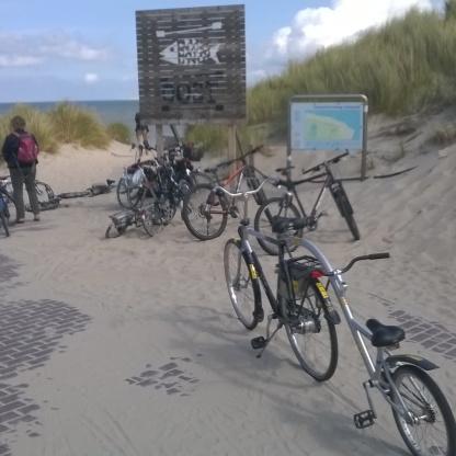 Biciclette a Vlieland