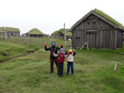 Villaggio vichingo in Islanda