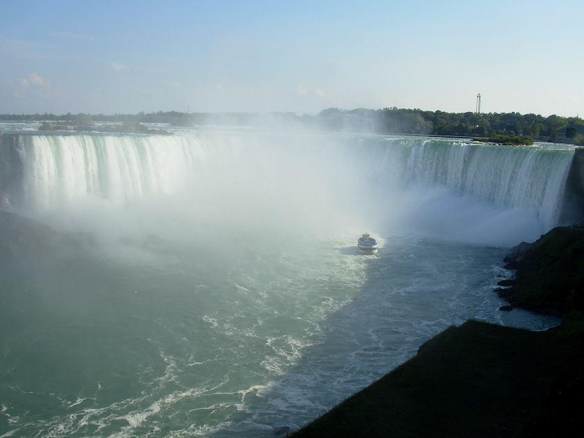 Niagara Falls dal lato Canadese