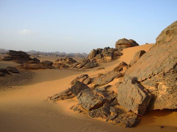 Deserto nella Akakus Libico