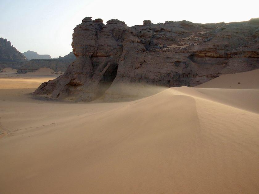 Il deserto dell'Acacus in Libia