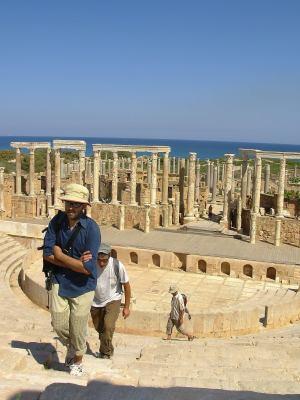 Anfiteatro a Leptis Magna