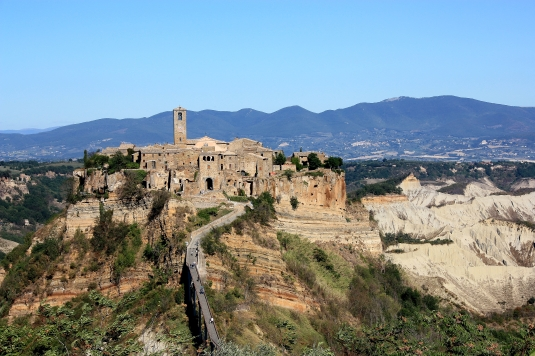 "Civita di Bagnoregio, ""the dying city"""