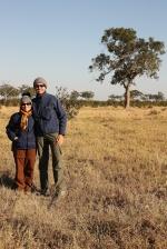 Nella savana del Botswana