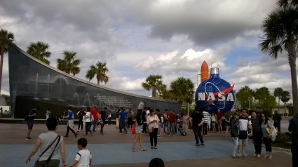 Ingresso del Kennedy Space Center a Cape Canaveral