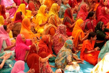 Donne indiane in Sari