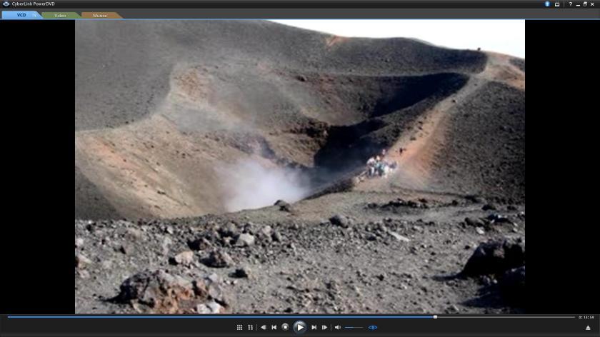 Fumarole sull' Etna