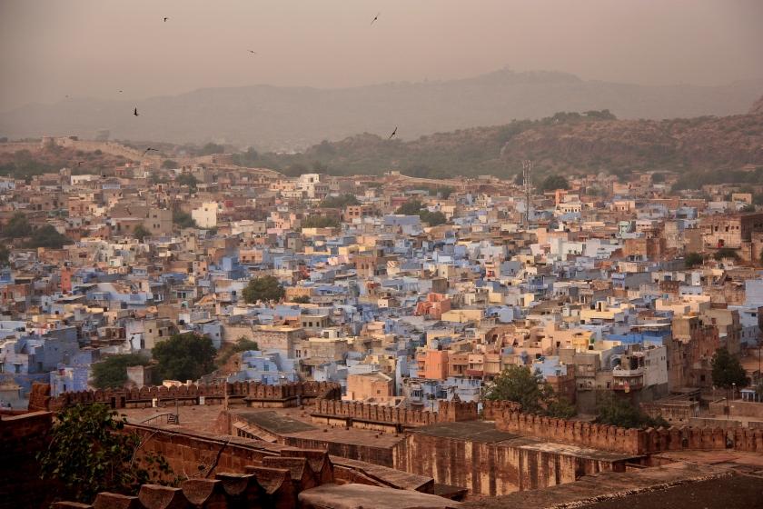 La città blu di Jodhpur
