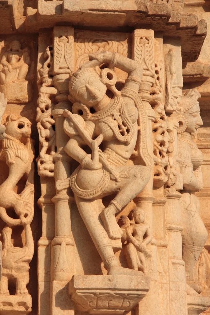 Decorazione di un tempio giainista