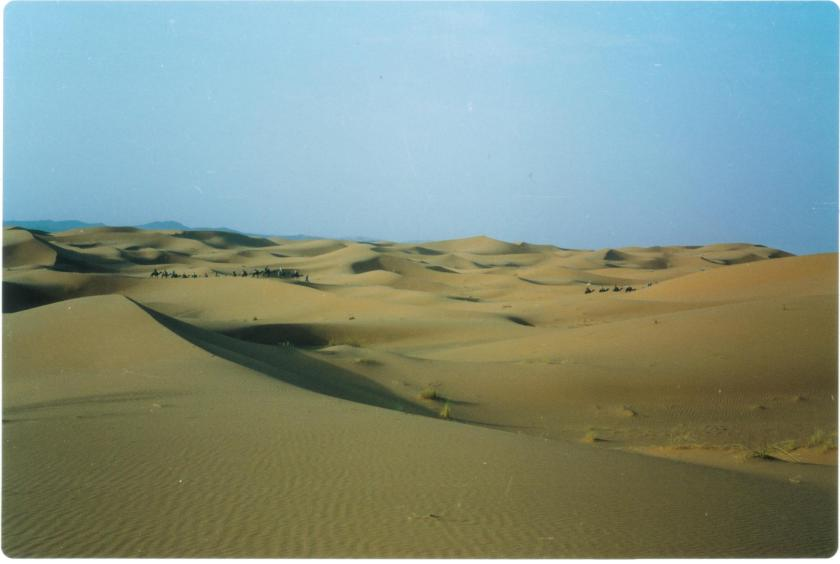 Dune di sabbia a Merzouga