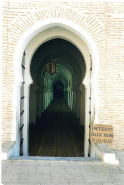 Ingresso moschea Marocco