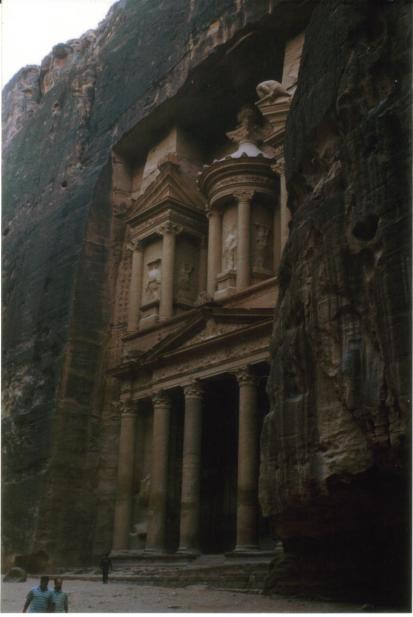 El Khasneh a Petra
