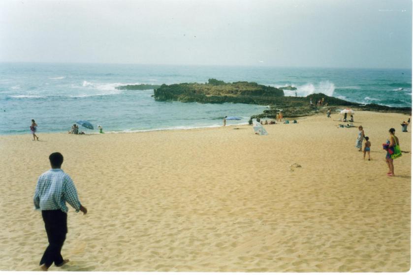 Spiaggia a Oualidia