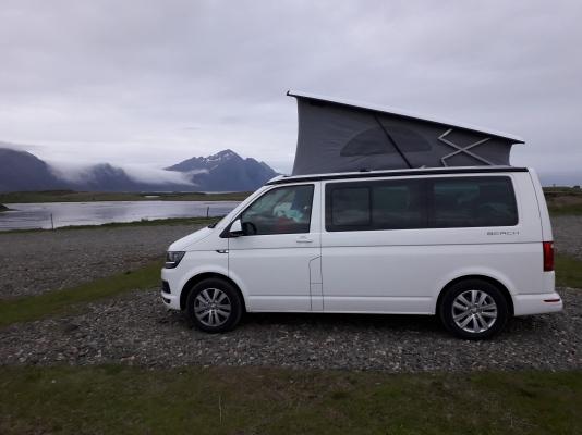 Pernottamento in camping a Hofn
