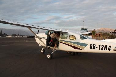 Avión para ver las líneas de Nazca