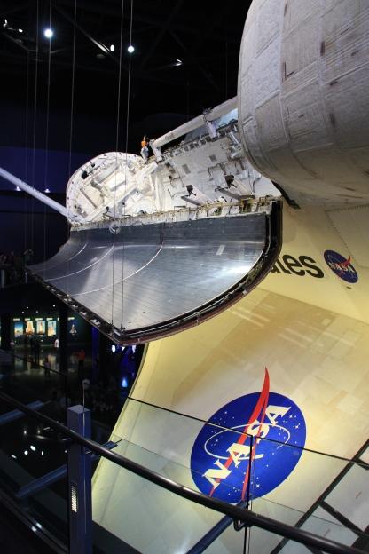 Shuttle Atlantis presso la Nasa