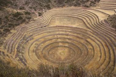 Las terrazas circulares de Morray