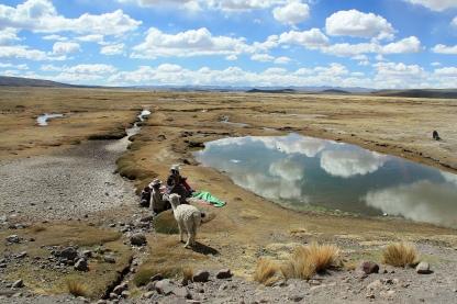 Panorama in Perù