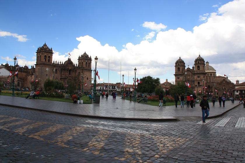 Plaza de Armas a Cuzco