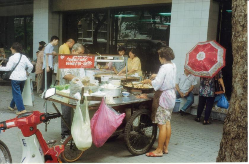 Bangkok steet food