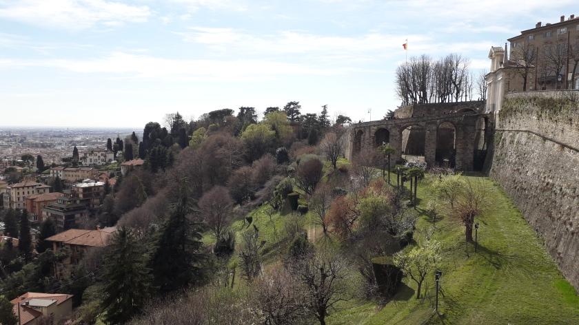 Bergamo Alta i giardini