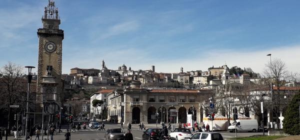 Bergamo skyline di Citta' Alta