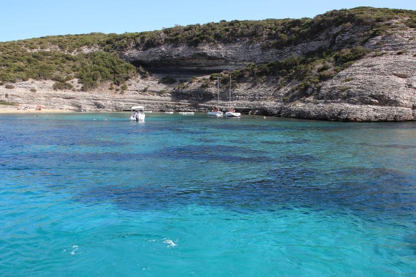 Gita in barca a Bonifacio
