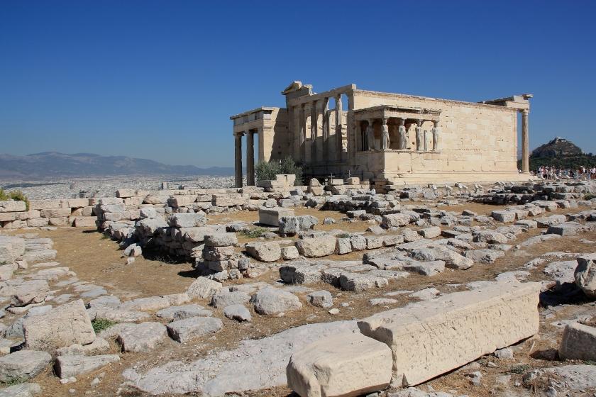 Le Cariatidi dell' Acropoli di Atene