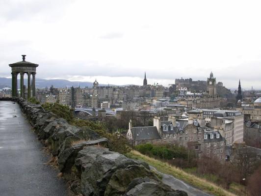 Edimburgo vista da Culton hill