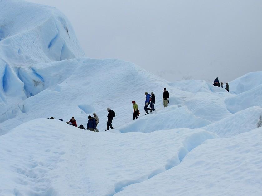 Passeggiata sul ghiacciaio Perito Moreno