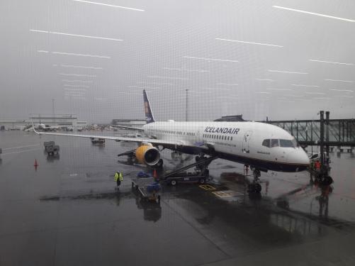 Scalo aereo a Reykjavik