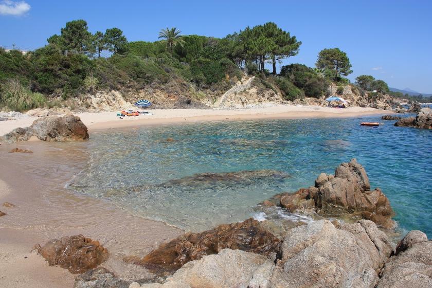 Spiaggia al Camping les Nacres