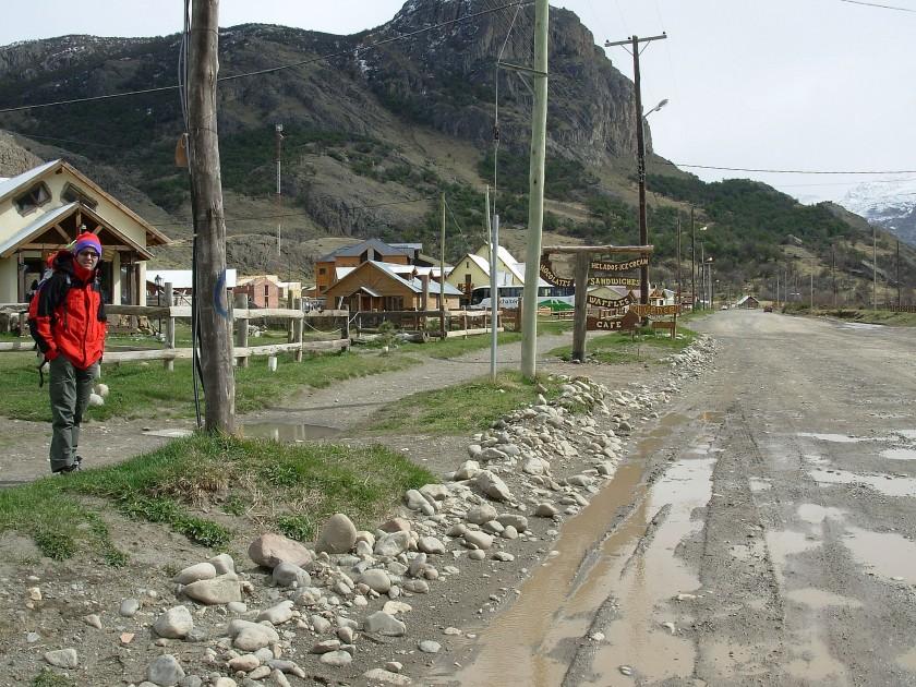 Strade di El Chalten