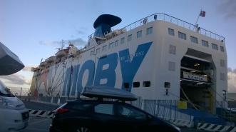Traghetto a Livorno