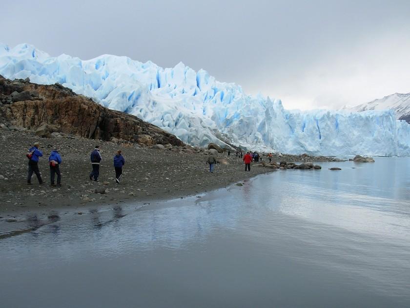Trekking verso il Perito Moreno