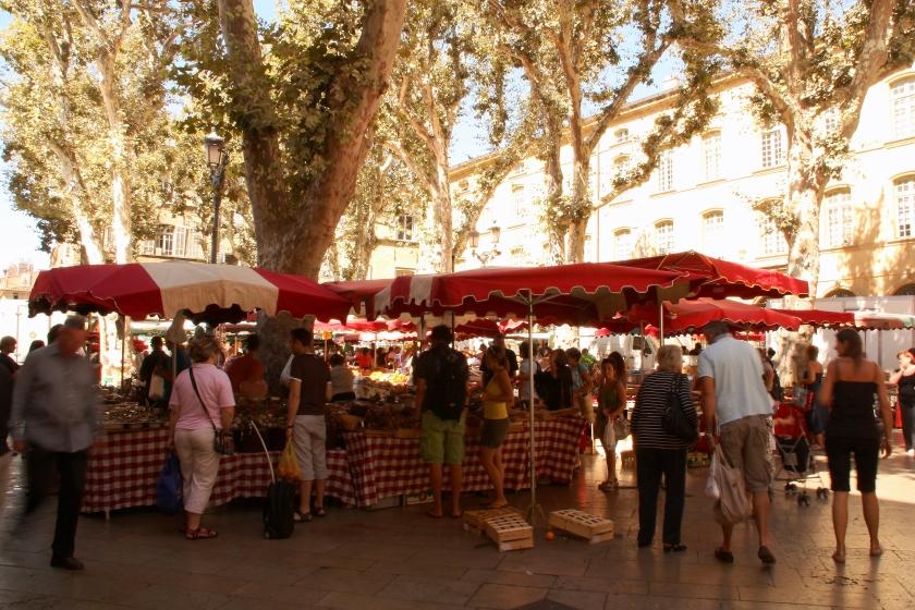 Mercato ad Aix en Provence