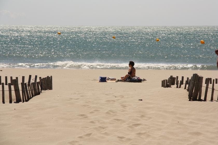 Spiaggia a Saintes Marie